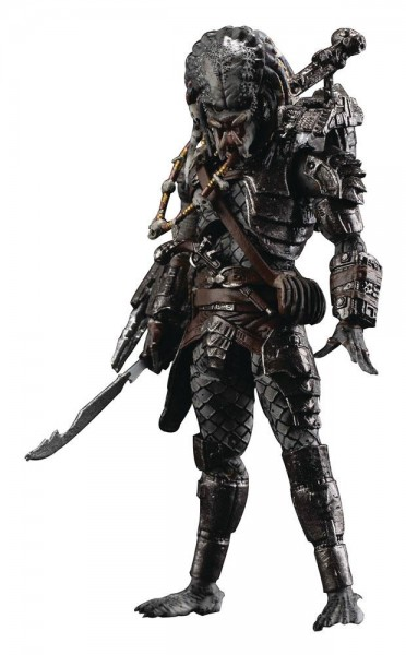 Predator 2 Actionfigur 1/18 Elder Predator (Version 2) Previews Exclusive
