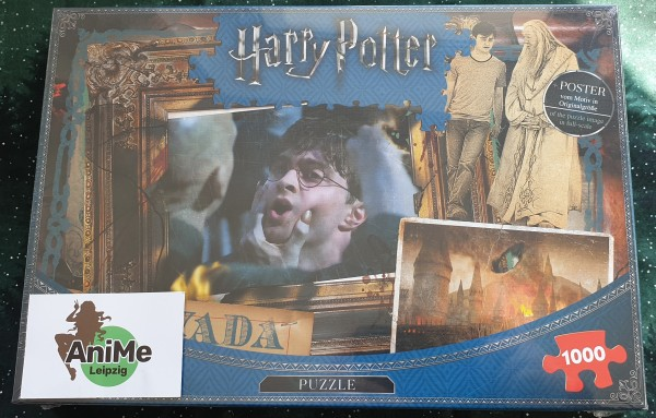 Harry Potter Puzzle Avada