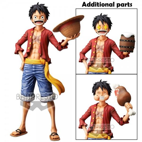 One Piece Grandista Nero Figur Monkey D. Ruffy