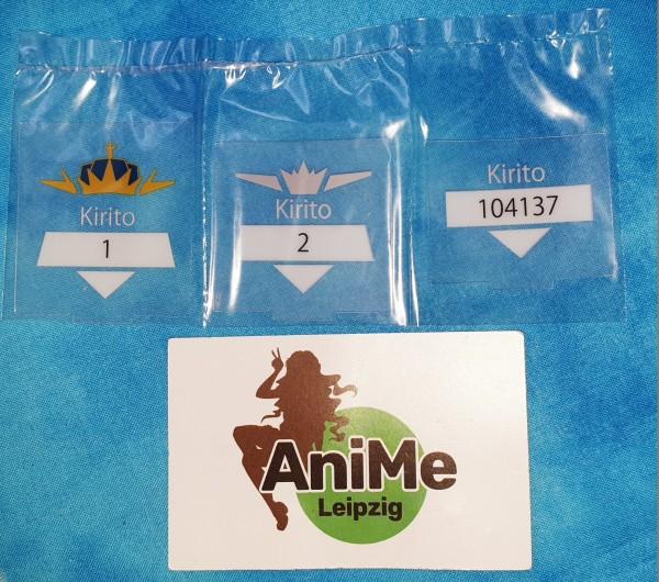 750b Nendoroid - Kirito - Ordinal Scale Version - 3 Anzeige für den Kopf