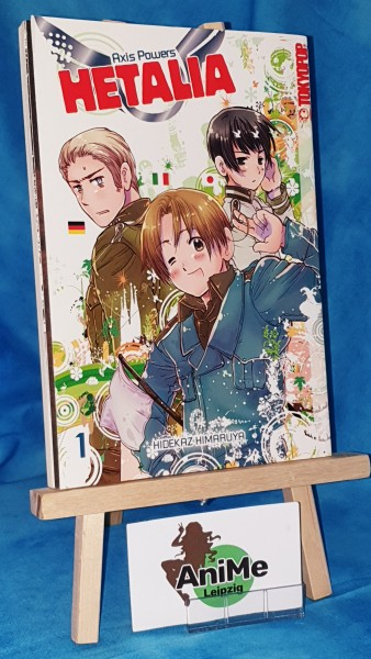 Hetalia - Axis Powers Band 1