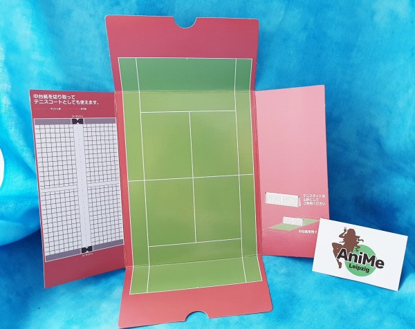 Nendoroid 661 - The New Prince of Tennis II - Atobe Keigo - (Orange Rouge) - Part - Spielfeld