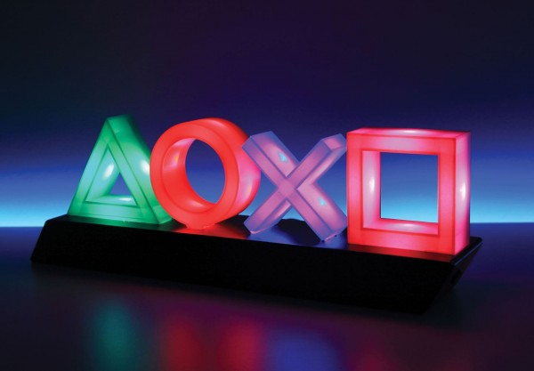 PlayStation Leuchte Icons