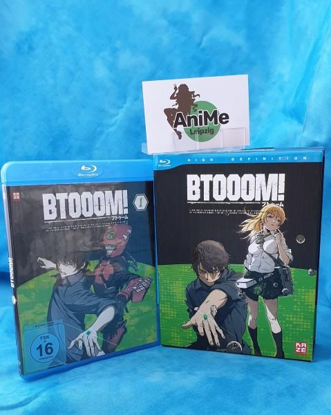 Btooom! Vol.1 (Limited Edition) Blu-ray + Sammelschuber