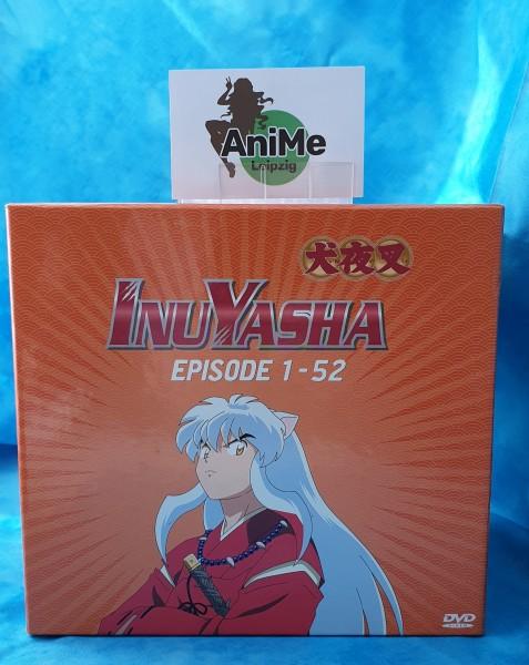 InuYasha Staffel 1 Episode 1-52 Komplettbox + Schuber