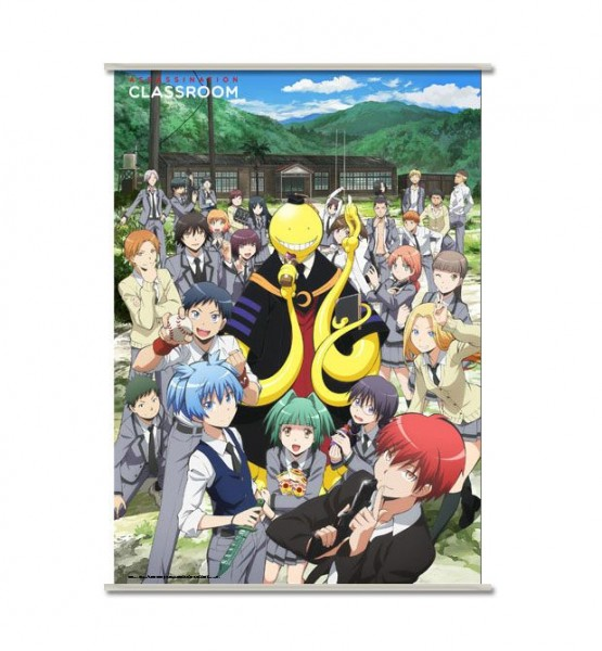 Assassination Classroom Wandrolle Koro & Students 90 x 60 cm