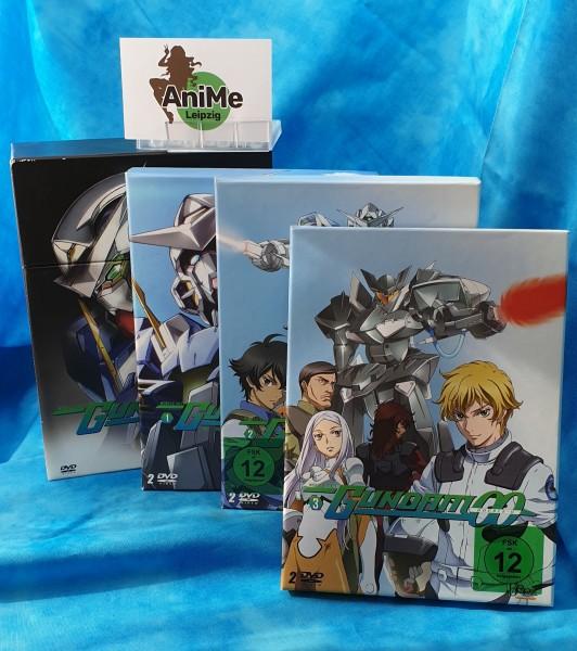 Mobile Suit Gundam 00 Vol 1 bis 3 + Schuber DVD