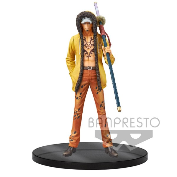 One Piece Stampede DXF Grandline Men PVC Statue Trafalgar Law