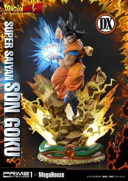 Dragon Ball Z Statue 1/4 Super Saiyajin Son Goku Deluxe Version