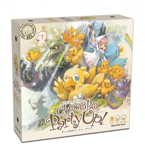 Chocobo Party Up! Brettspiel