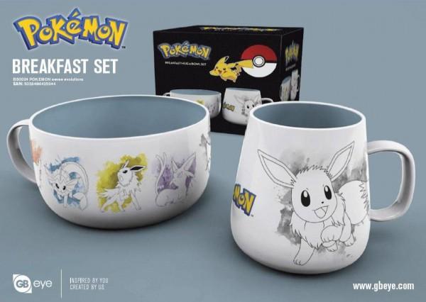 Pokémon Frühstücks-Set Evoli Evolutions