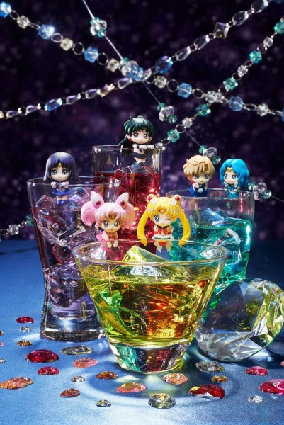 Sailor Moon Ochatomo Series Sammelfiguren 5 cm Cosmic Heart Cafe Sortiment (8)