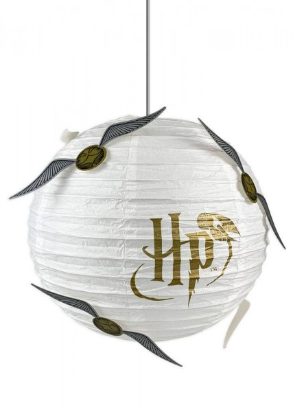 Harry Potter Lampenschirm aus Papier Der Goldene Schnatz