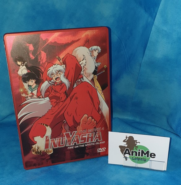 InuYasha - The Movie 4: Fire on the Mystic Island Steelbook Edition DVD