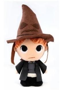 Harry Potter Super Cute Plüschfigur Ron w/ Sorting Hat 18 cm