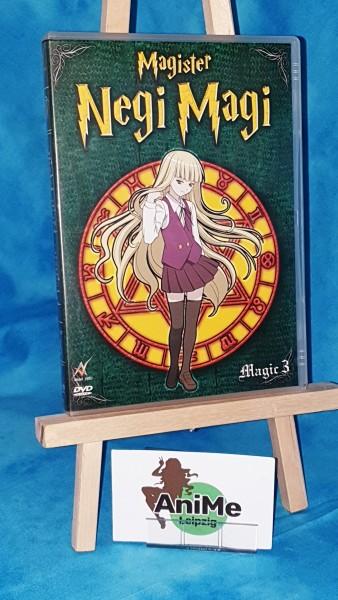 Magister Negi Magi - Vol. 3 DVD