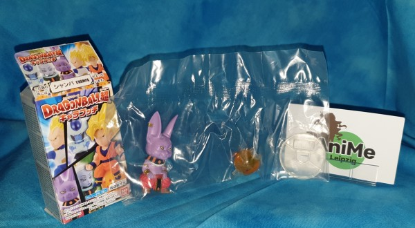"""Dragonball Super Charapucchi Minifigur """"Champa"""""""