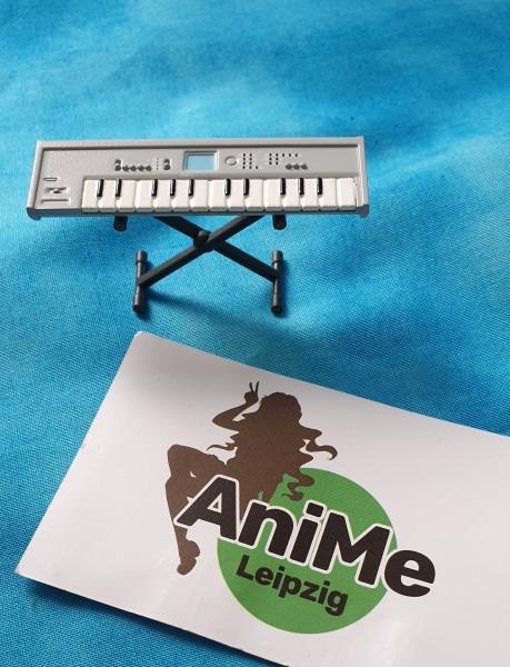 129 Nendoroid Miku Hatsune Part - Keybord Grau