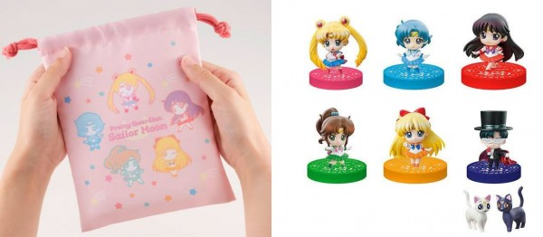 Sailor Moon Petit Chara Sammelfiguren Puchitto Oshioki yo! 2020 Ver. Limited Set