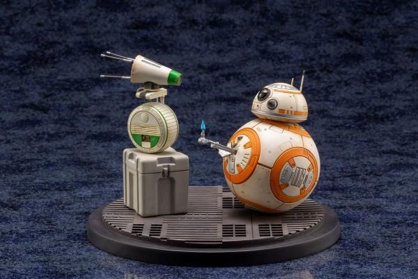 Star Wars Episode IX ARTFX+ Statuen 1/7 Doppelpack D-O & BB-8
