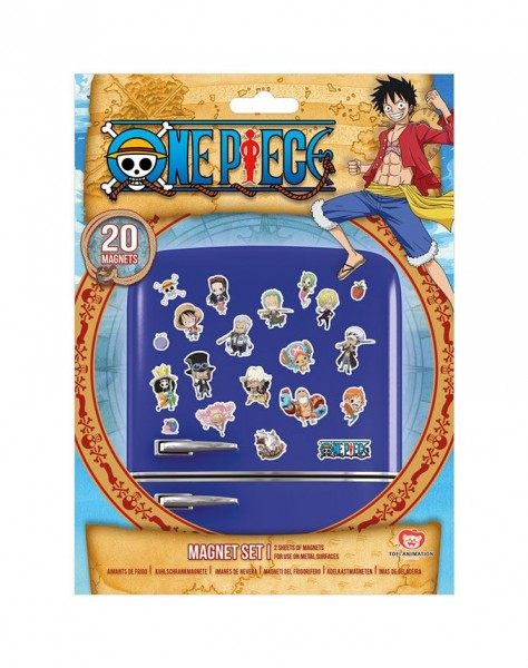 One Piece Magnete Set Chibi