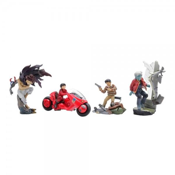 Akira miniQ Minifiguren 5-8 cm Display Vol. 1 Kaneda