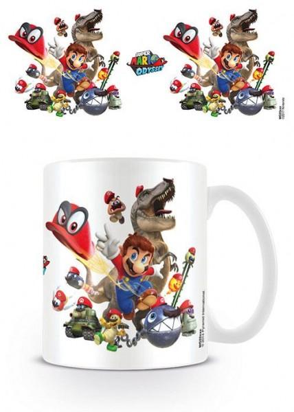 Super Mario Odyssey Tasse Cap Montage