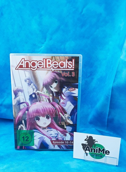 Angel Beats! - Vol. 3 DVD
