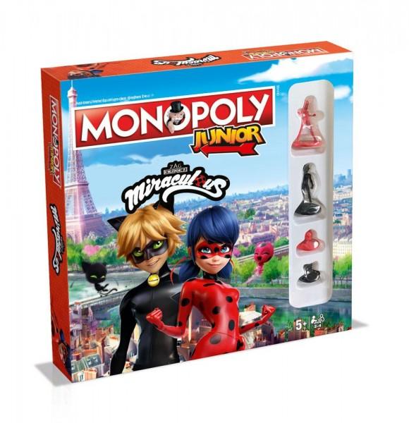 Miraculous Geschichten von Ladybug Brettspiel Monopoly Junior *Deutsche Version*