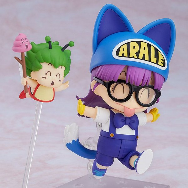 Dr. Slump Nendoroid - Arale Norimaki Cat Ears Ver. & Gatchan