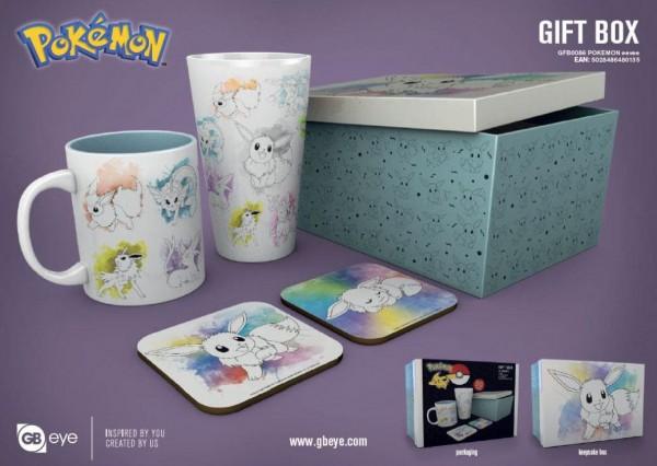 Pokémon Geschenkbox Evoli