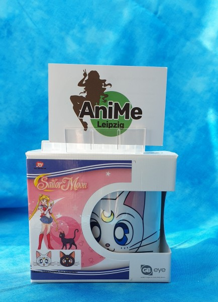 Sailor Moon Tasse Luna & Artemis