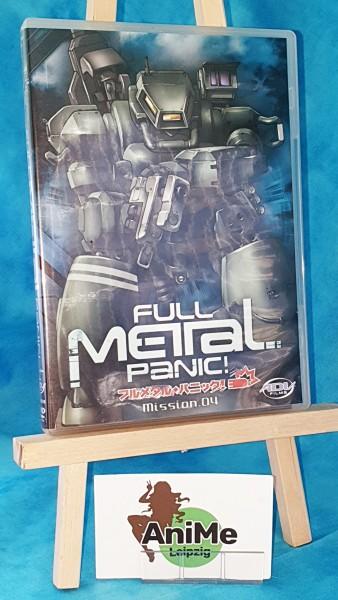 Full Metal Panic! Mission Vol. 4 DVD