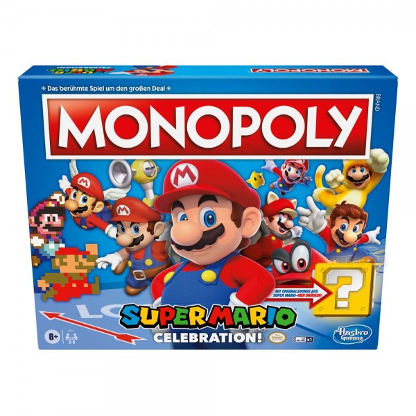 Super Mario Celebration Brettspiel Monopoly *Deutsche Version*