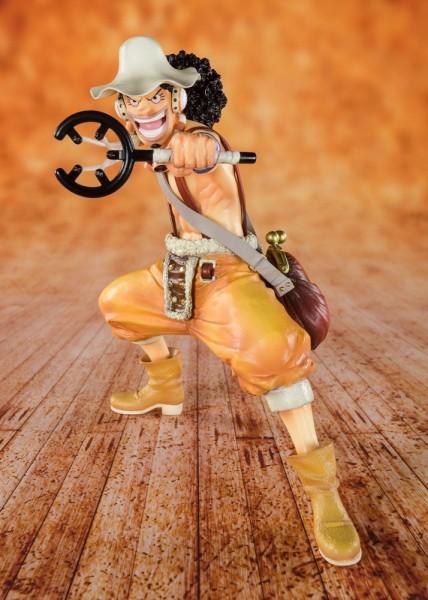 One Piece FiguartsZERO PVC Statue Sniper König Lysop 12 cm
