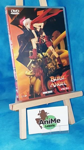 Burst Angel Vol. 3 DVD