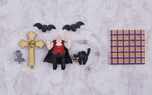 Nendoroid More Halloween Set Male Ver. - Männliche Version