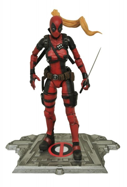 Marvel Select Actionfigur Lady Deadpool