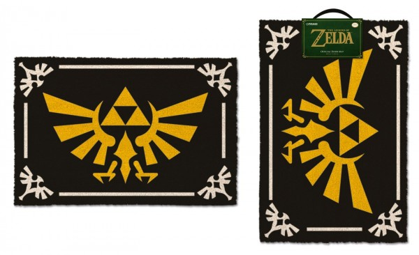Legend of Zelda Fußmatte Triforce 40 x 60 cm