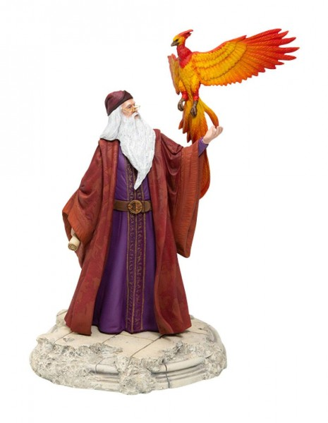 Harry Potter Statue Dumbledore mit Fawkes 30 cm