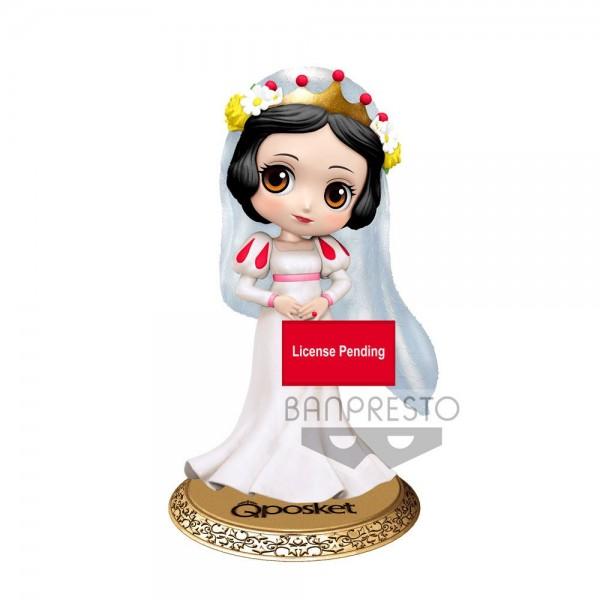 Disney Q Posket Minifigur Snow White Dreamy Style Ver. A