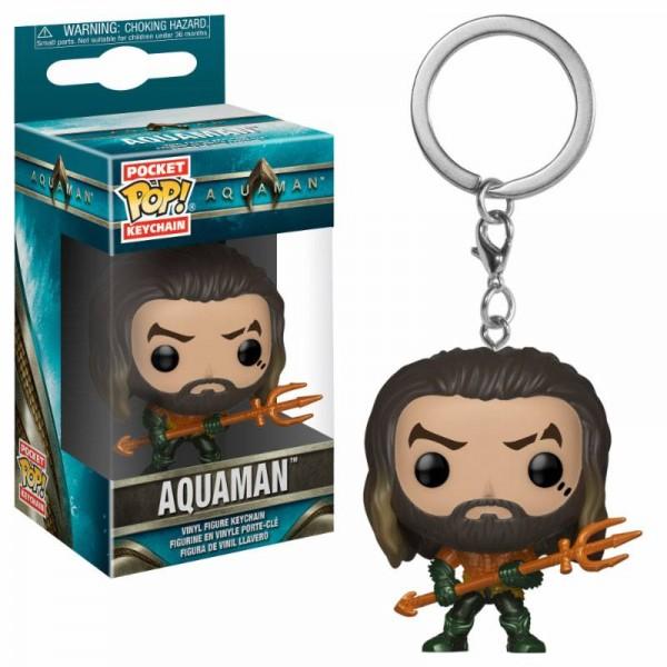 Aquaman Movie Pocket POP! Vinyl Schlüsselanhänger Arthur Curry as Gladiator 4 cm