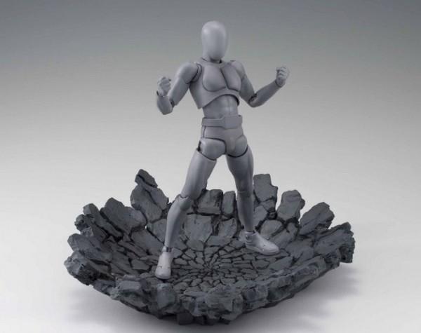 Tamashii Effect Actionfiguren-Zubehör Impact Grey Ver