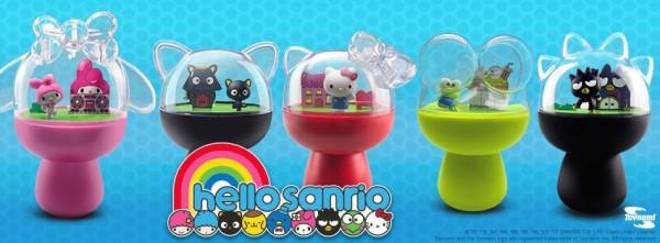 Hello Sanrio Capsule Diorama & Minifiguren Set