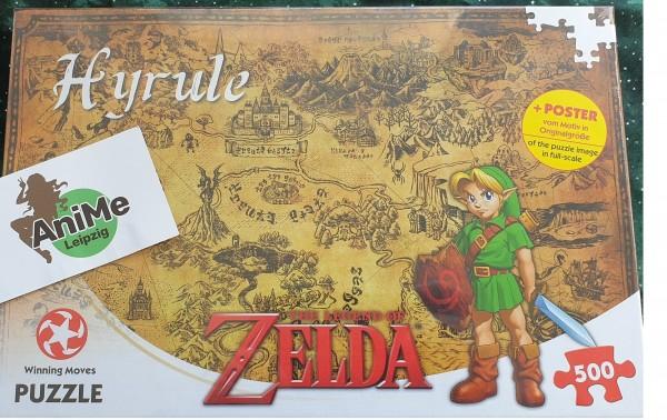 Legend of Zelda Puzzle Hyrule Field