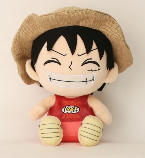 One Piece Plüschfigur Ruffy 25 cm