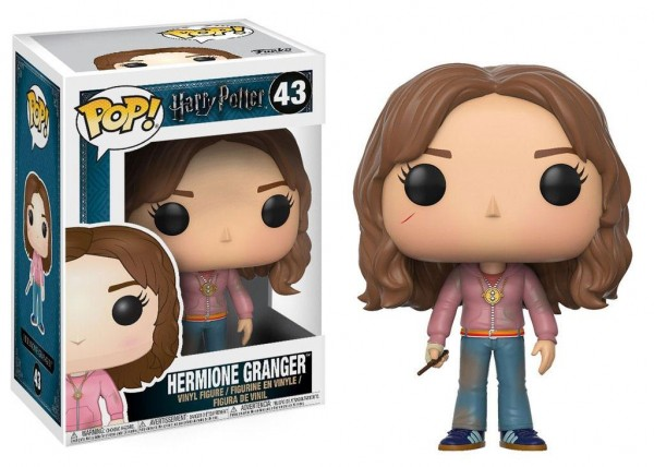 Harry Potter POP! Movies Vinyl Figur Hermione with Time Turner