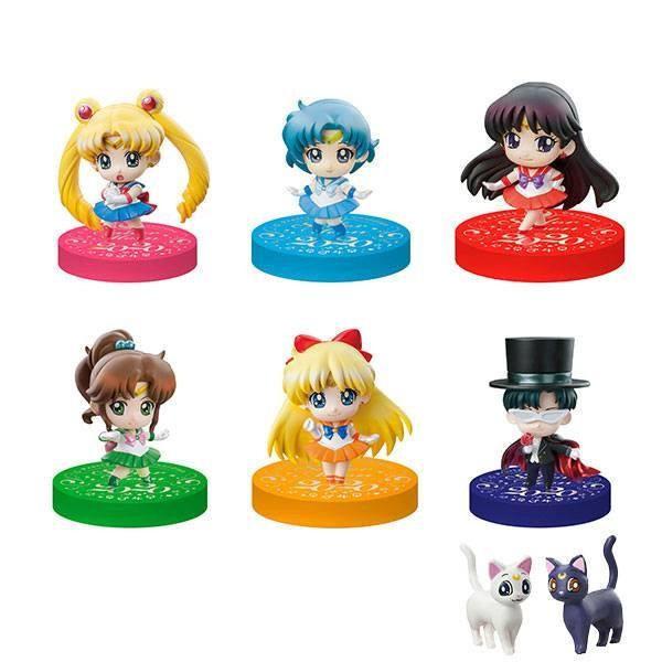 Sailor Moon Petit Chara Sammelfiguren 5 cm Puchitto Oshioki yo! 2020 Ver. Sortiment