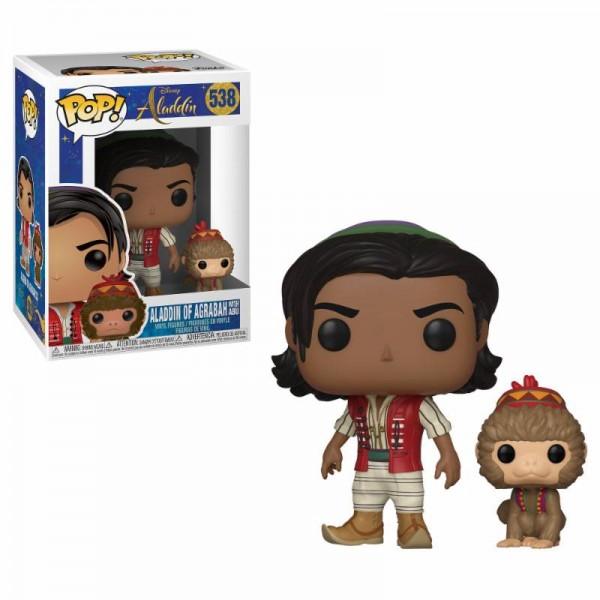Aladdin POP! Disney Vinyl Figur Aladdin & Abu