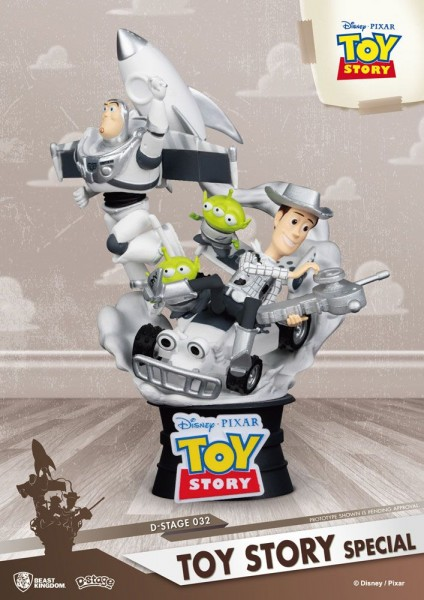 Toy Story D-Stage PVC Diorama Special Edition